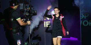 FOTO Turneul Campioanelor: Simona Halep - Eugenie Bouchard 6-2, 6-3! Urmeaza meciul cu Serena Williams