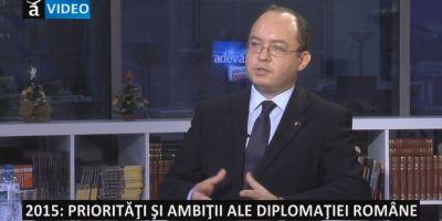 Bogdan Aurescu: Trebuie consolidat Parteneriatul Estic si configurata o viziune strategica realista a UE asupra vecinatatii sale
