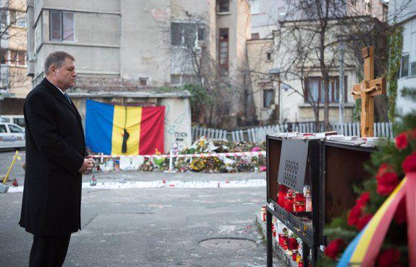 Klaus Iohannis a fost din nou la COLECTIV: NU vreau si NU pot sa uit ce s-a intamplat