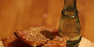 Sorici de porc la cuptor, un aperitiv crocant