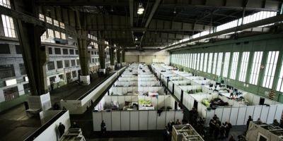 Berlin: Autoritatile vor sa transforme fostul aeroport Tempelhof in cel mai mare centru de primire a refugiatilor