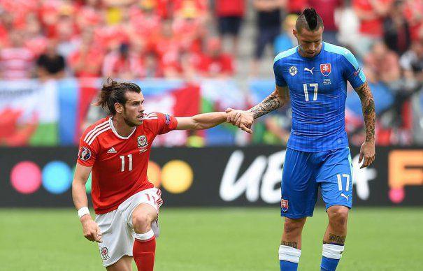 EURO 2016. Meci SPECTACULOS intre Tara Galilor si Slovacia. Gareth Bale a marcat SUPERB din lovitura libera, echipa sa a debutat cu un SUCCES in Franta