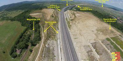 VIDEO Autostrada Meseterului Manole. De ce nu este posibila redeschiderea circulatiei pe traseul Orastie - Sibiu in 2016