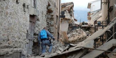 Cutremur in Italia. Autoritati romane:
