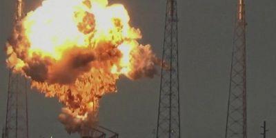 VIDEO Lovitura pentru Israel si Facebook. Satelitul Amos 6, distrus in timpul testarii unei rachete purtatoare