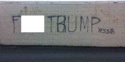 Alegeri SUA 2016. Un birou de campanie al republicanilor a fost vandalizat cu un mesaj anti-Trump in Carolina de Nord
