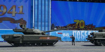 Tancul Armata, considerat de rusi ca fiind cel mai puternic din lume, va fi echipat cu o drona de recunoastere