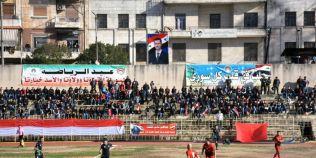 VIDEO Fotbalul s-a intors la Alep, dupa aproape cinci ani