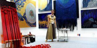 O pictorita din Vaslui, in topul celor mai apreciati artisti din Dubai
