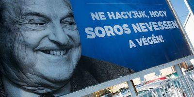 Viktor Orban si-a impanzit tara cu afise anti-Soros.
