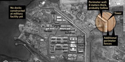 China a inaugurat in Djibouti prima baza militara in strainatate. Imaginile din satelit surprind un buncar imens
