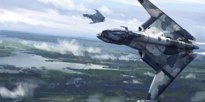 Cum vor arata avioanele de lupta ale viitorului care vor zbura singure, ajutate de inteligenta artificiala si de Realitate Virtuala