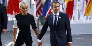 Macron, despre povestea lui de dragoste cu Brigitte: