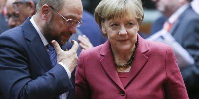 Alegerile din Germania. Angela Merkel si Martin Schulz isi incheie campania in fiefurile lor electorale