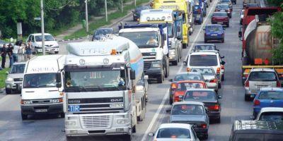 Restrictii de circulatie in Bucuresti, intre orele 5.00 si 17.00, pentru protestul transportatorilor