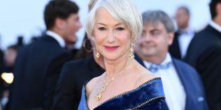 FOTO Helen Mirren a impresionat pe covorul rosu la Cannes, dar a avut parte si de un moment neplacut